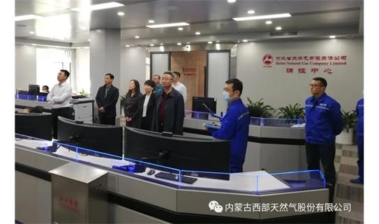 陈子峰一行赴新天绿色能源股份有限公司开展调研交流